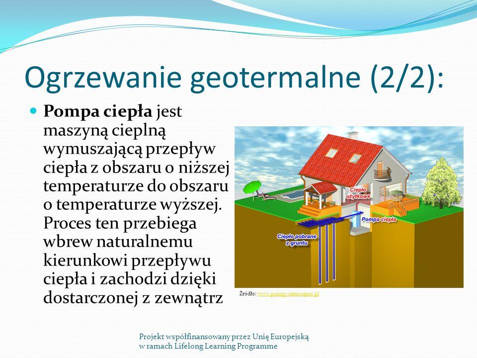 Ogrzewanie geotermalne (2/2):