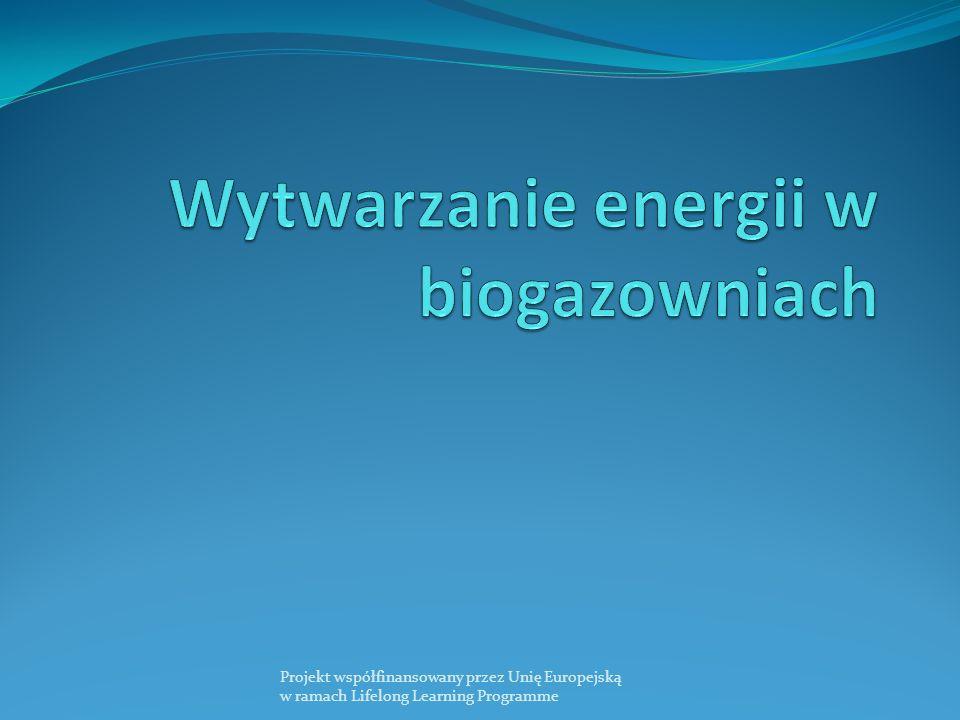 Wytwarzanie energii w biogazowniach