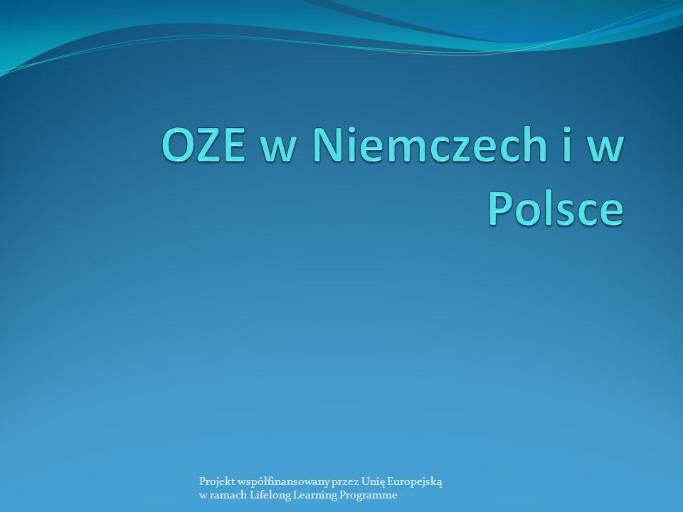 OZE w Niemczech i w Polsce