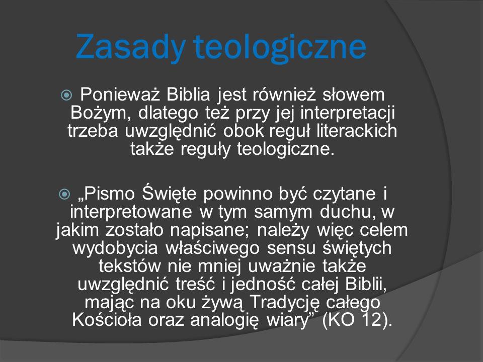 Zasady teologiczne