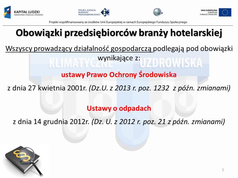 Obowiązki przedsiębiorców branży hotelarskiej