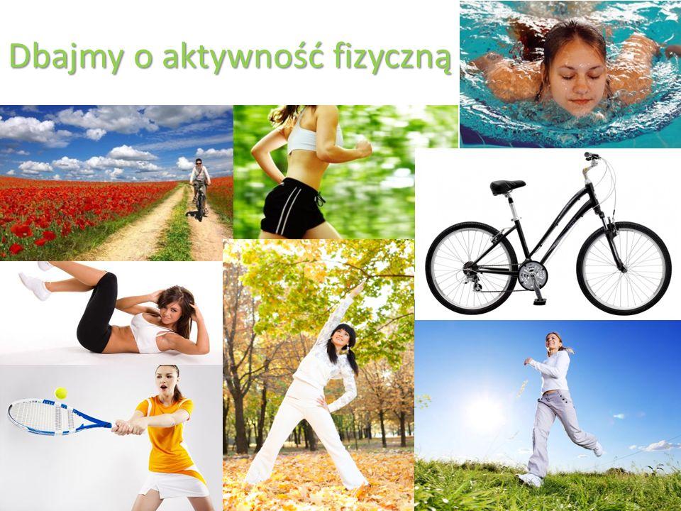 Dbajmy o aktywność fizyczną