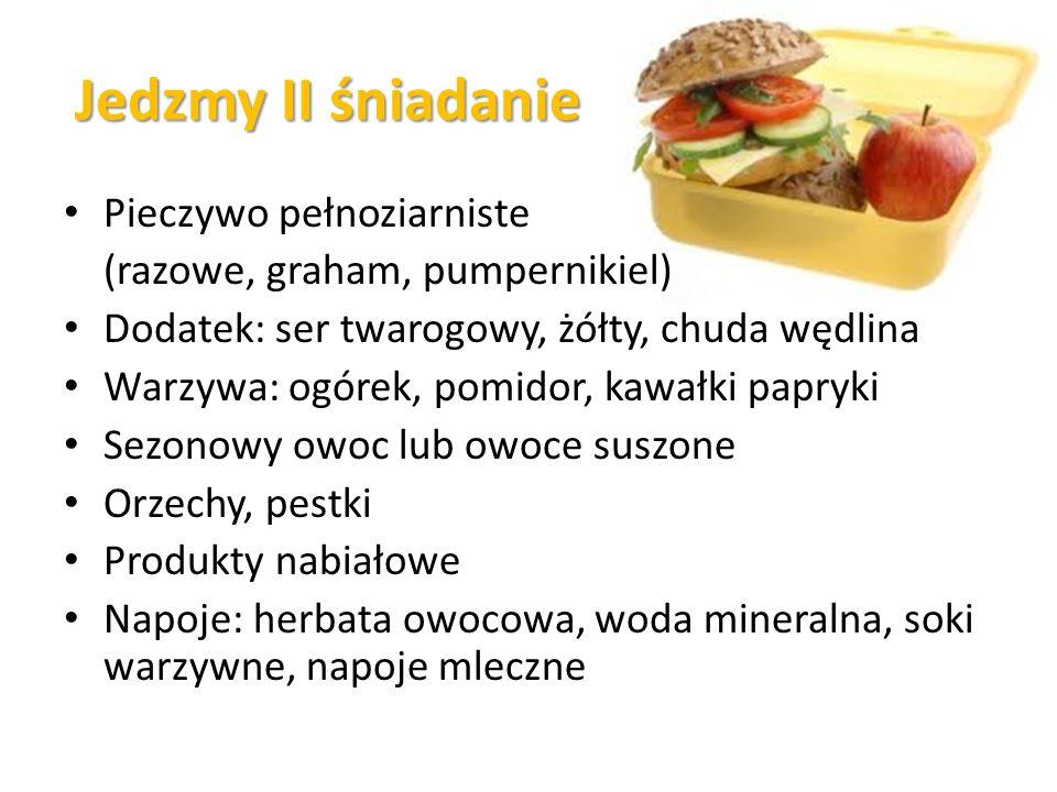 Jedzmy II śniadanie Pieczywo pełnoziarniste