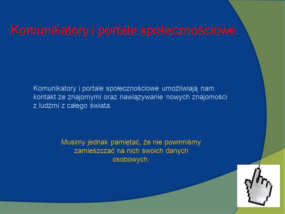 Komunikatory i portale społecznościowe