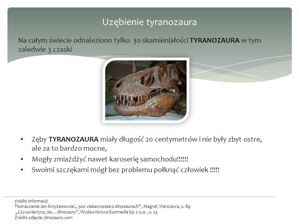 Uzębienie tyranozaura