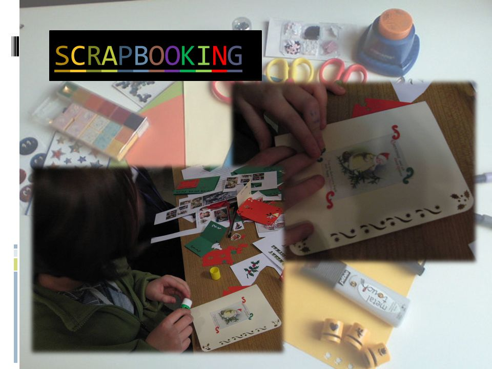 scrapbooking