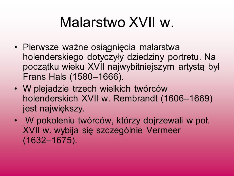 Malarstwo XVII w.