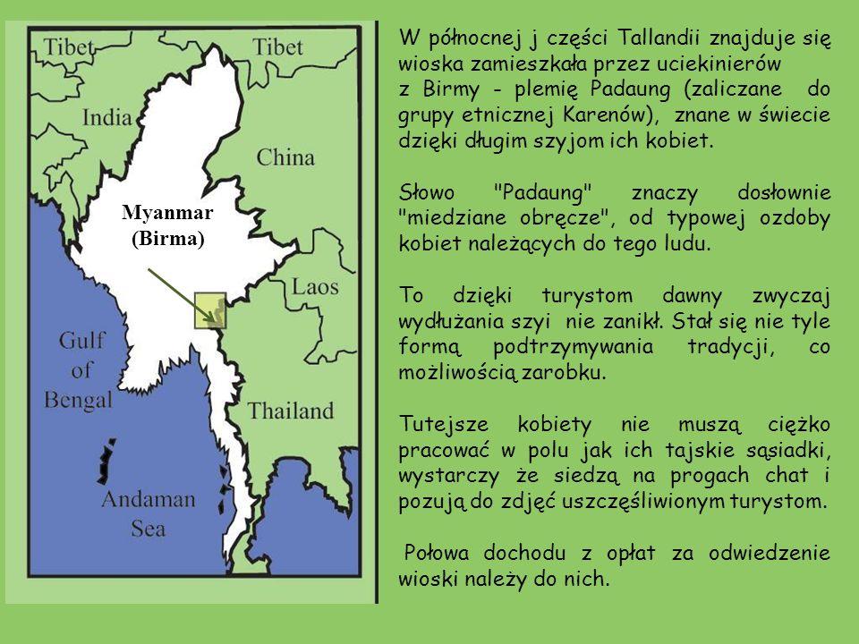 W północnej j części Tallandii znajduje się wioska zamieszkała przez uciekinierów