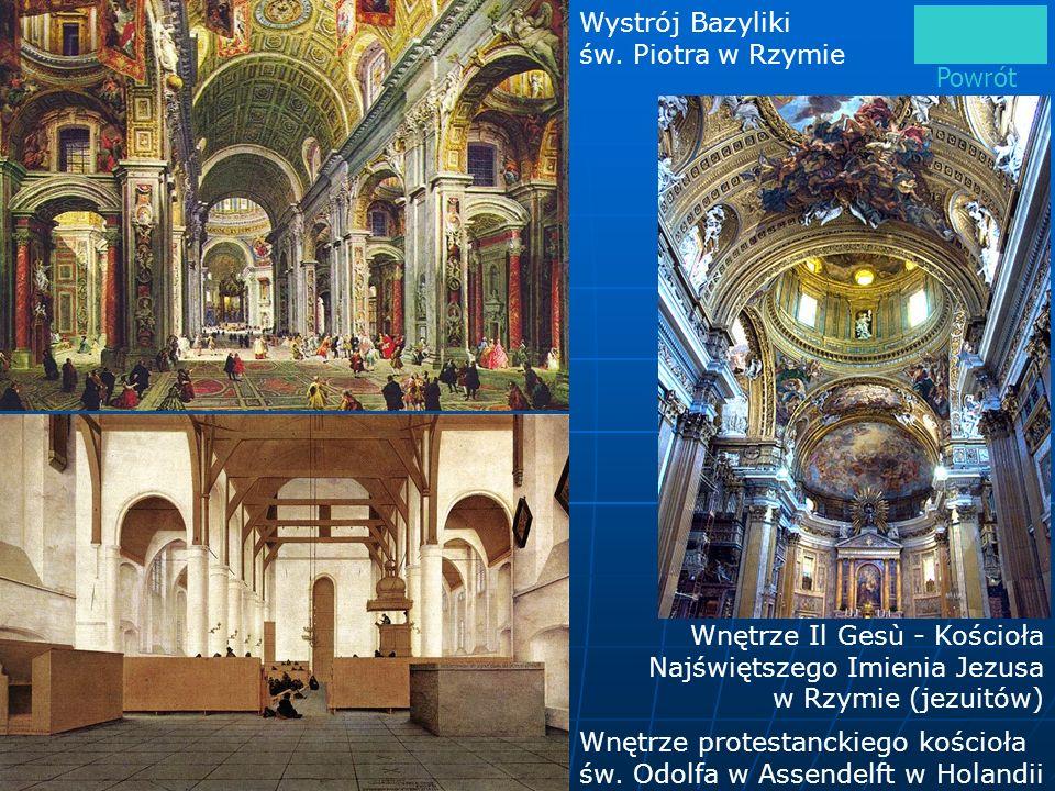 Wystrój Bazyliki św. Piotra w Rzymie