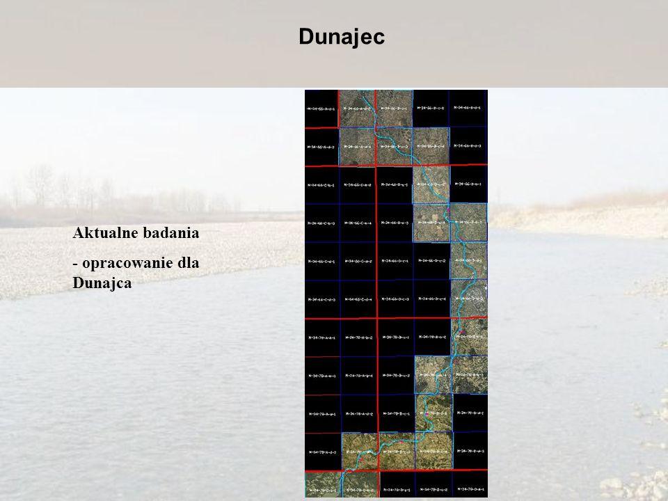 Dunajec Aktualne badania - opracowanie dla Dunajca