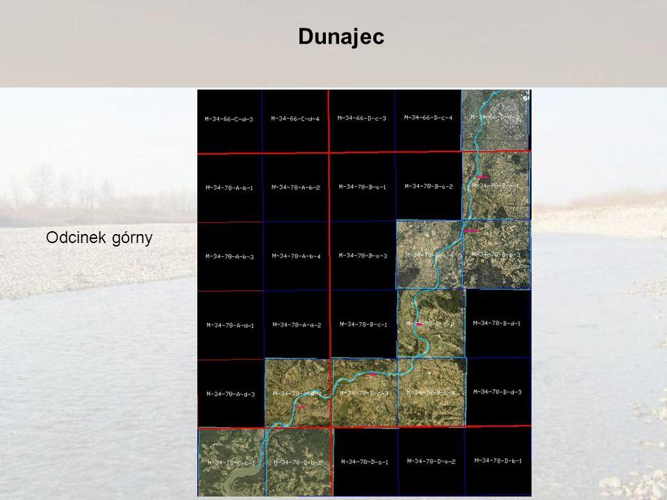 Dunajec Odcinek górny