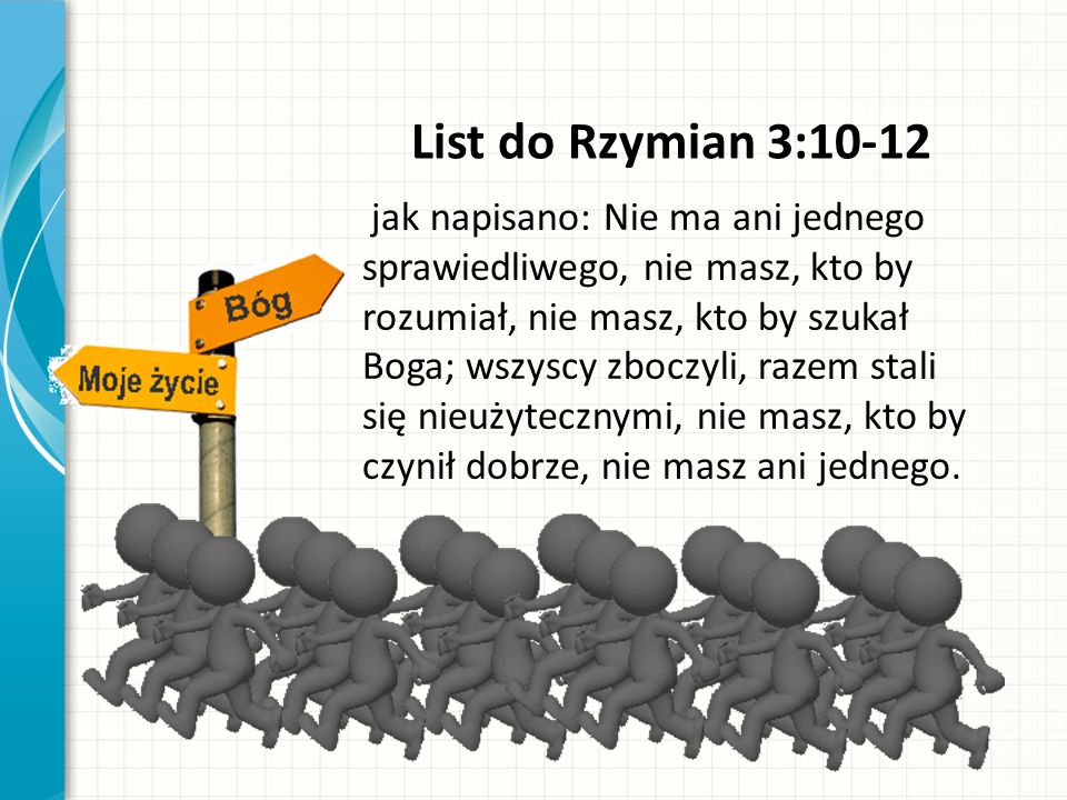 List do Rzymian 3:10-12