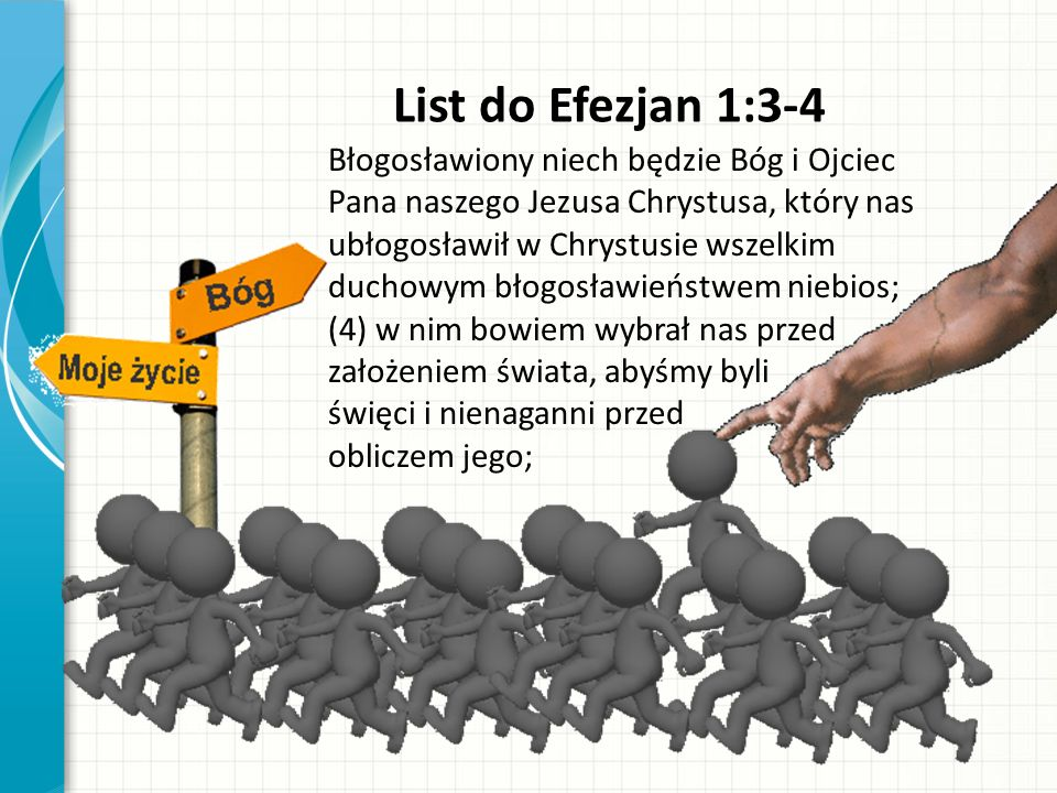 List do Efezjan 1:3-4