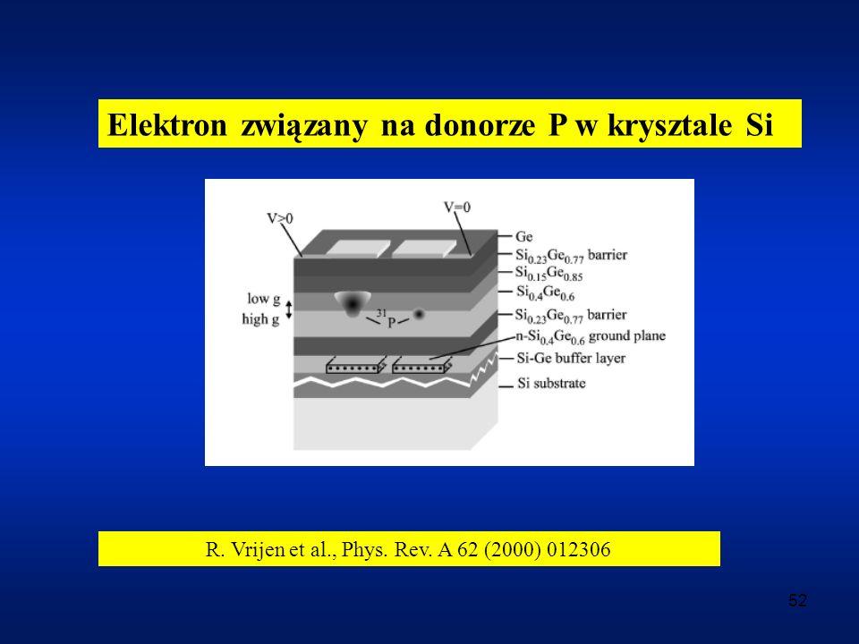 R. Vrijen et al., Phys. Rev. A 62 (2000) 012306