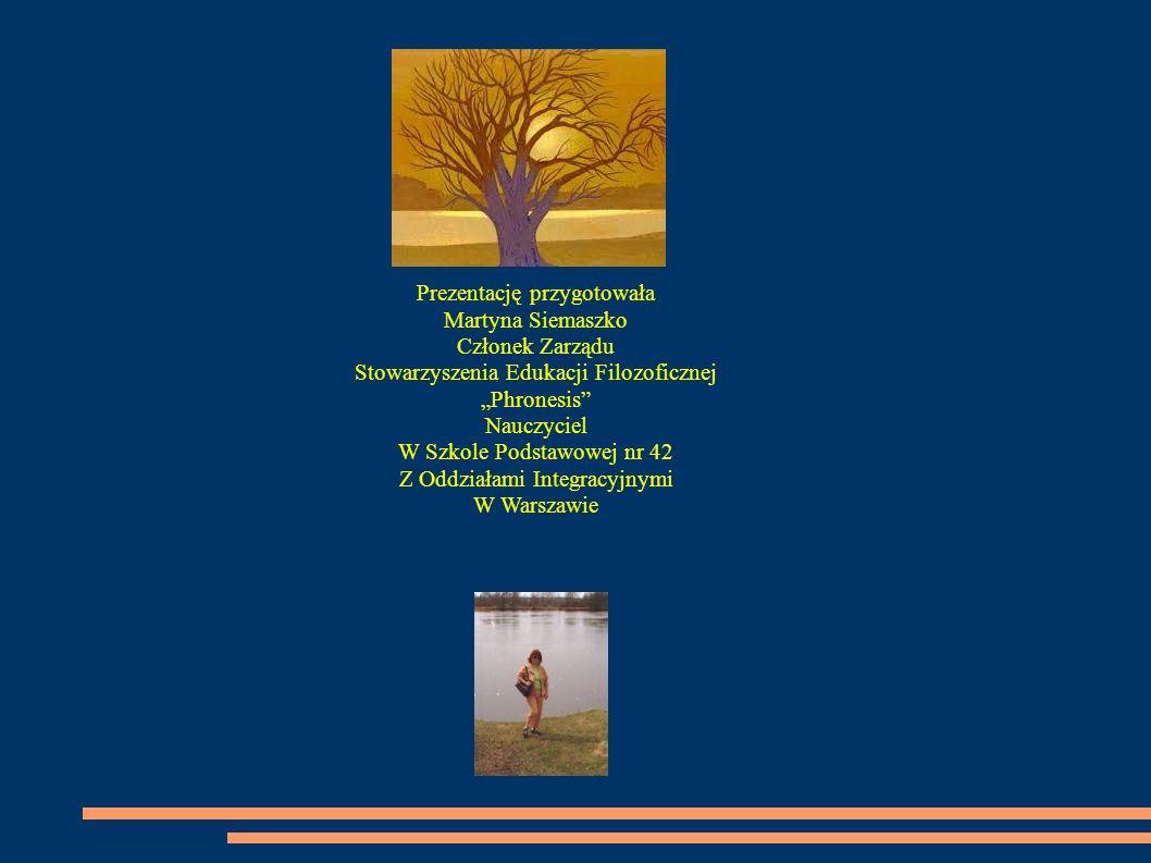 Prezentację przygotowała Martyna Siemaszko Członek Zarządu