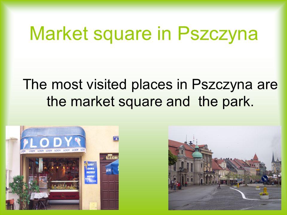 Market square in Pszczyna