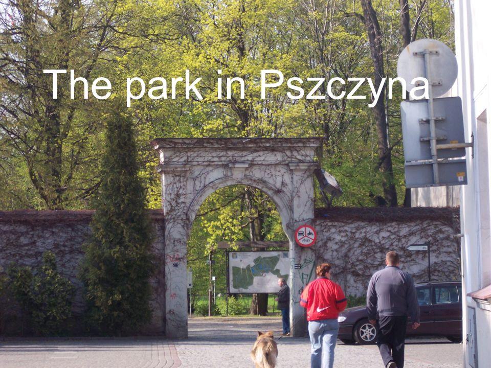 Park w Pszczynie The park in Pszczyna