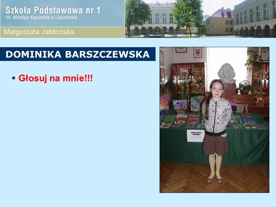 DOMINIKA BARSZCZEWSKA