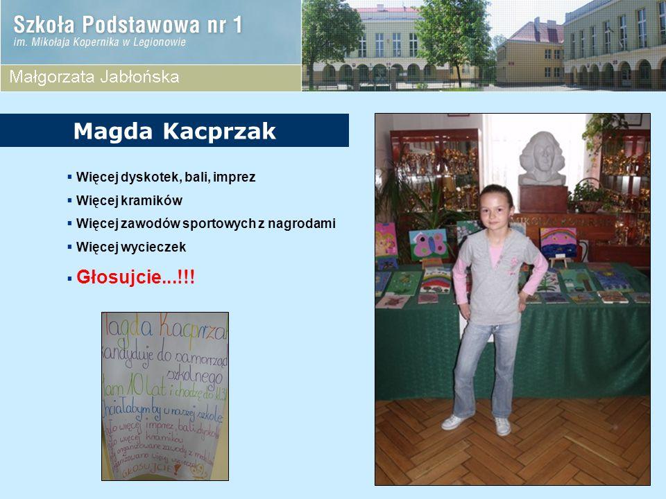Magda Kacprzak Więcej dyskotek, bali, imprez Więcej kramików