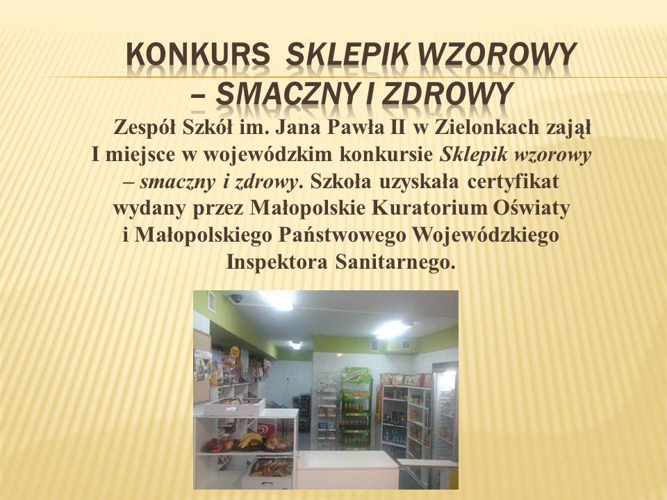 Konkurs sklepik wzorowy – smaczny i zdrowy