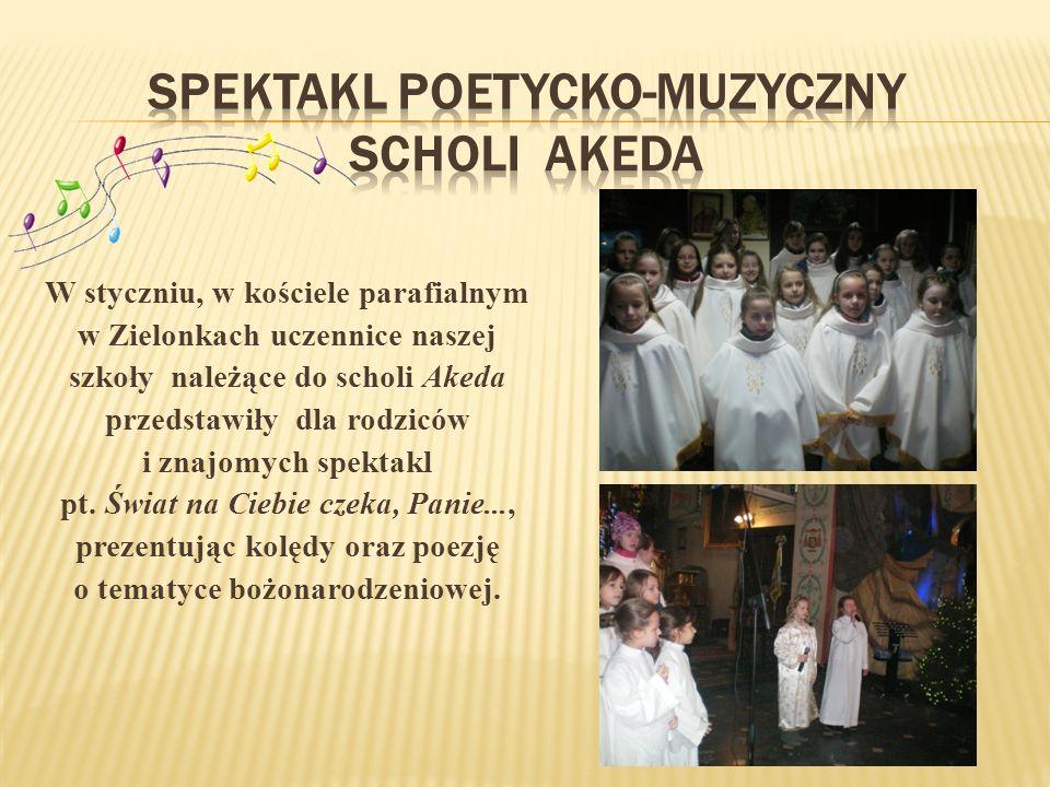 Spektakl poetycko-muzyczny scholi Akeda