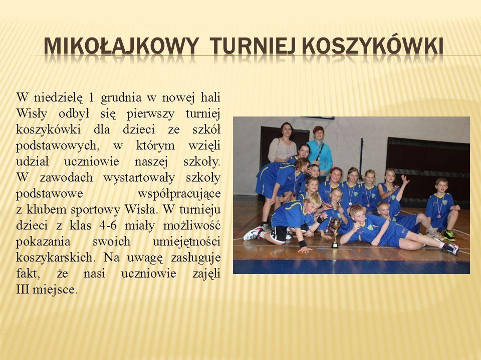 Mikołajkowy turniej koszykówki