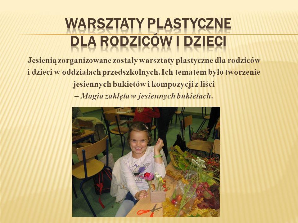 Warsztaty plastyczne dla rodziców i dzieci