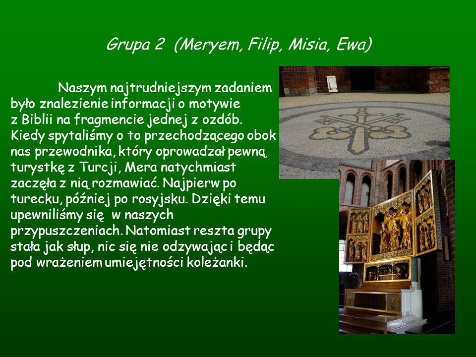 Grupa 2 (Meryem, Filip, Misia, Ewa)