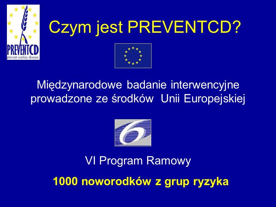 Czym jest PREVENTCD Międzynarodowe badanie interwencyjne prowadzone ze środków Unii Europejskiej.