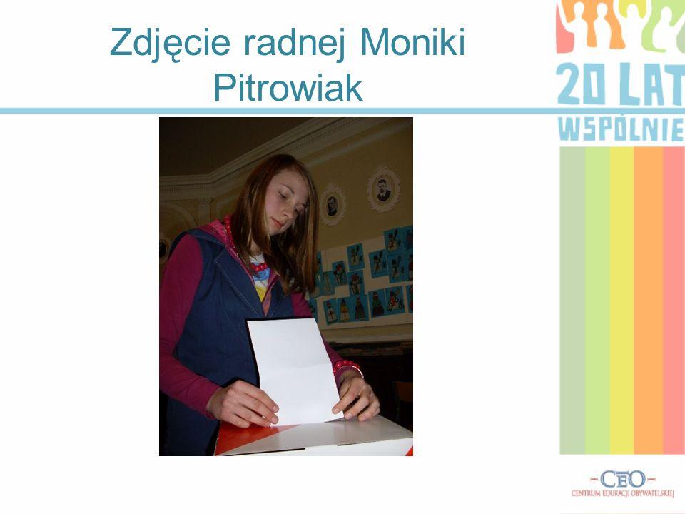 Zdjęcie radnej Moniki Pitrowiak