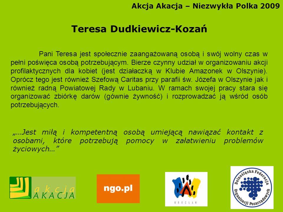 Teresa Dudkiewicz-Kozań