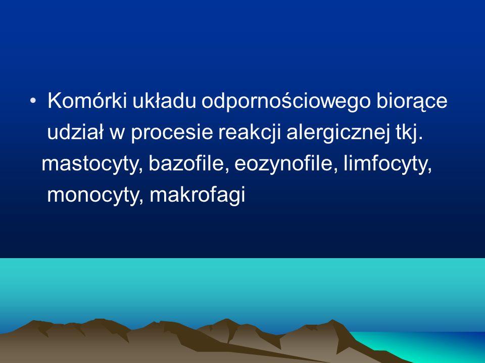 Komórki układu odpornościowego biorące