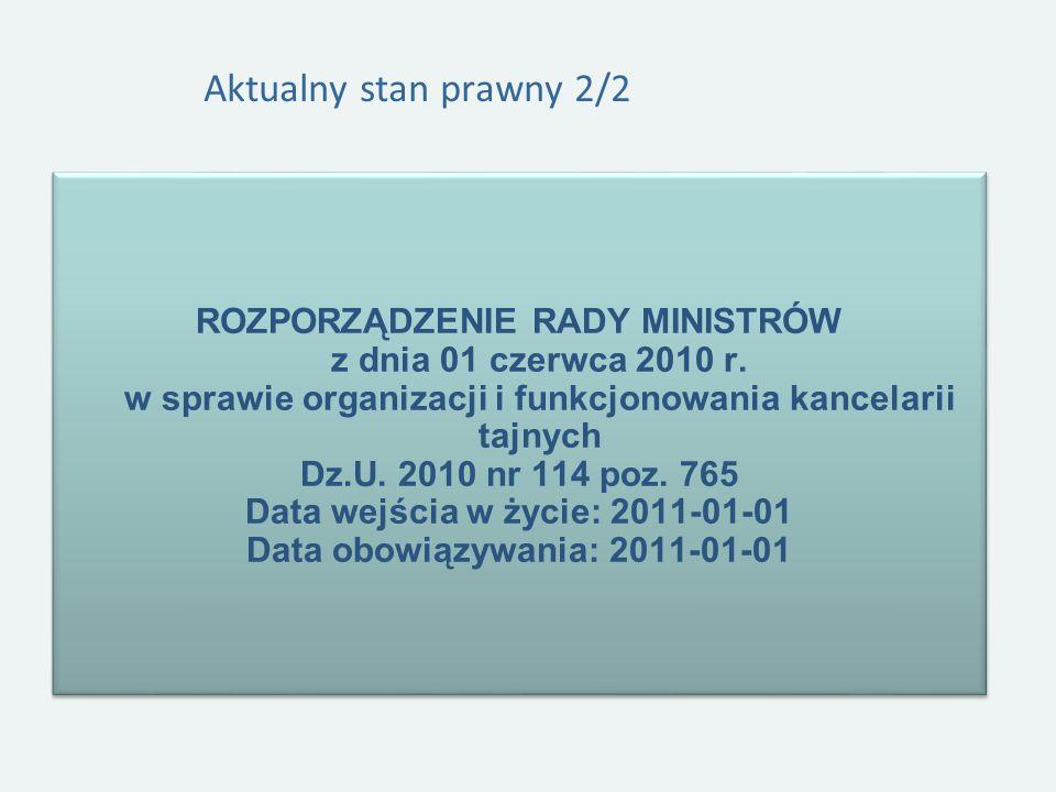Data wejścia w życie: 2011-01-01 Data obowiązywania: 2011-01-01