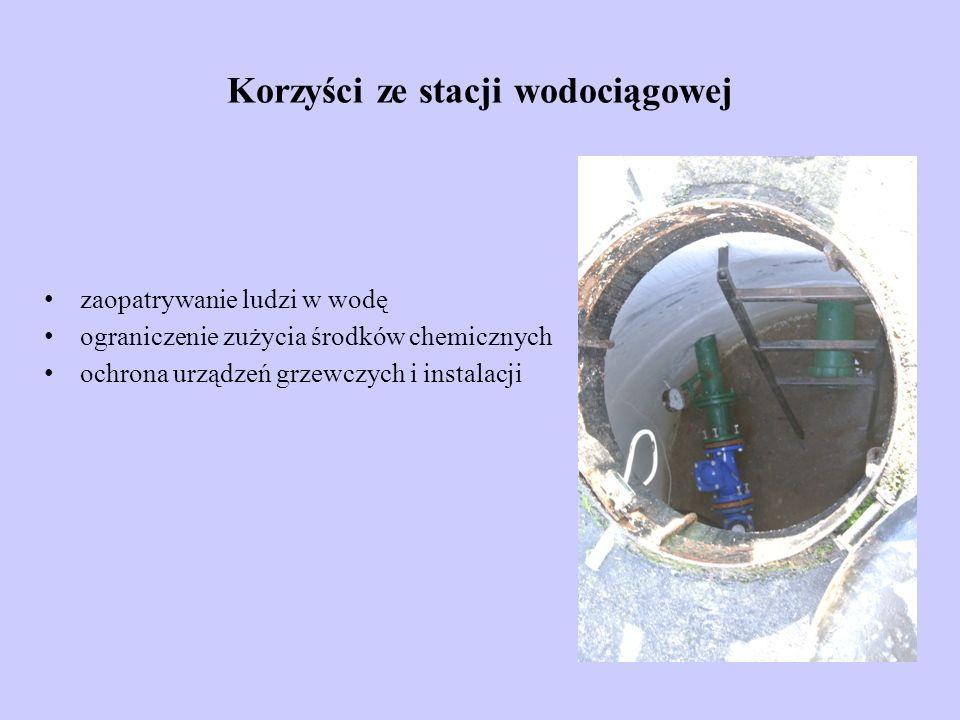 Korzyści ze stacji wodociągowej