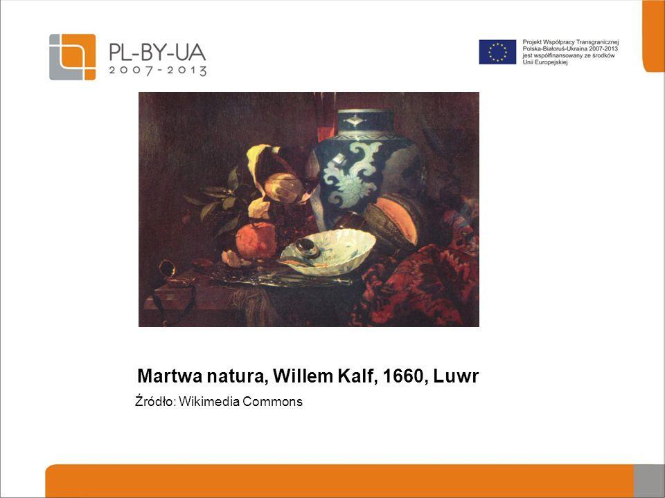Martwa natura, Willem Kalf, 1660, Luwr