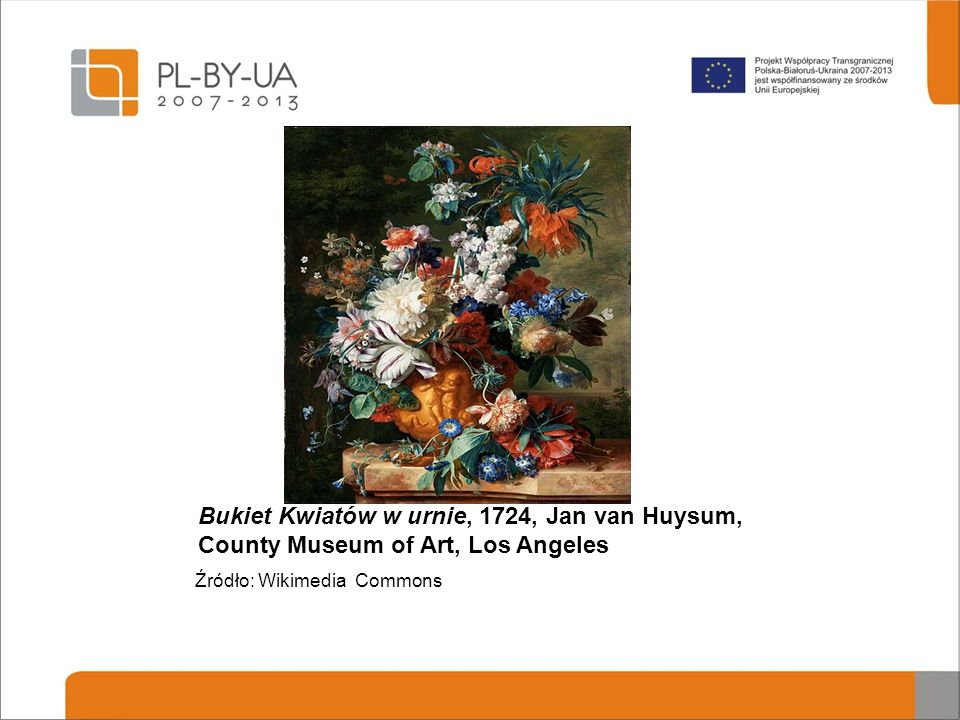 Bukiet Kwiatów w urnie, 1724, Jan van Huysum, County Museum of Art, Los Angeles