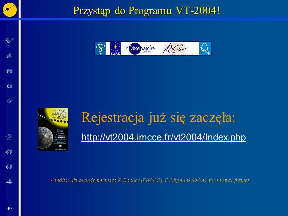 Przystąp do Programu VT-2004!