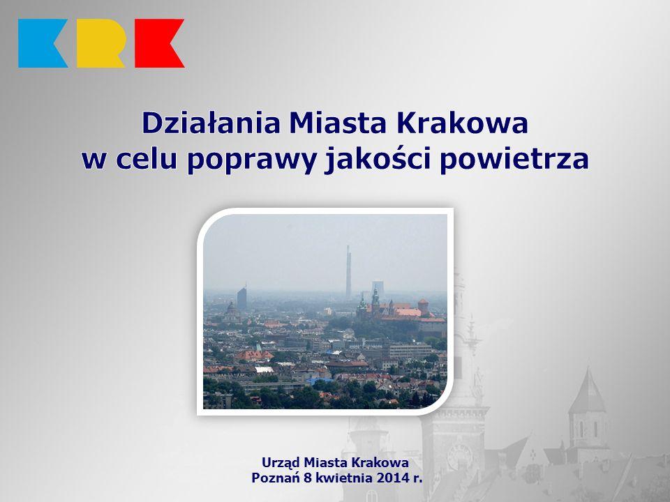 Działania Miasta Krakowa w celu poprawy jakości powietrza