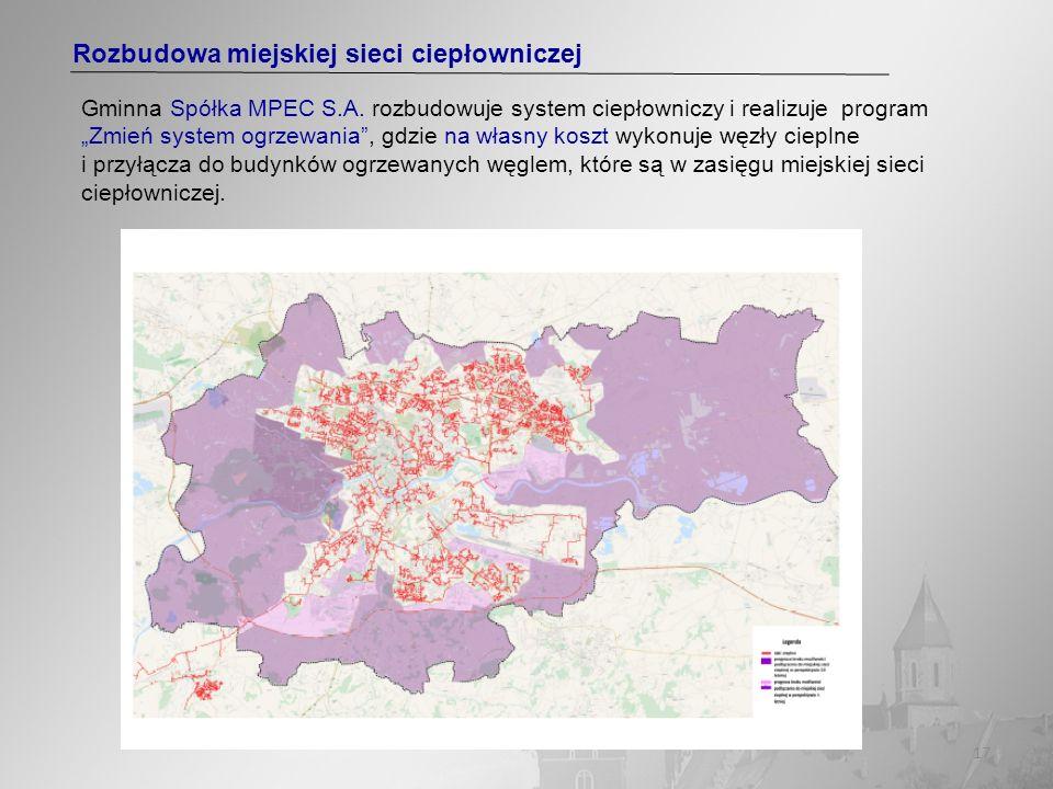 Rozbudowa miejskiej sieci ciepłowniczej