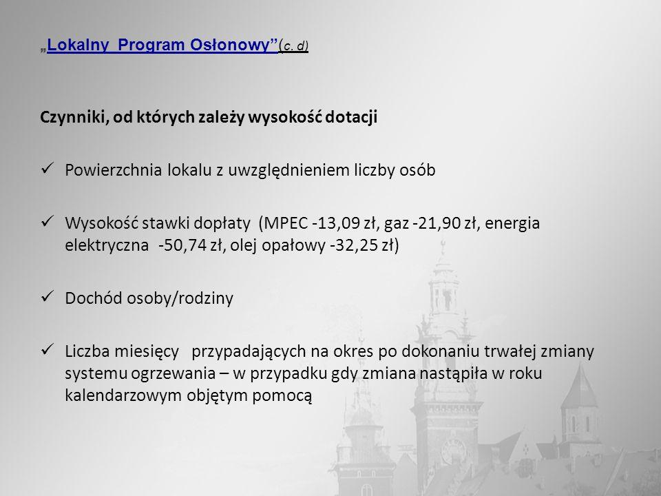 """""""Lokalny Program Osłonowy (c. d)"""