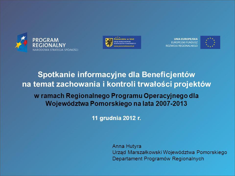 Spotkanie informacyjne dla Beneficjentów