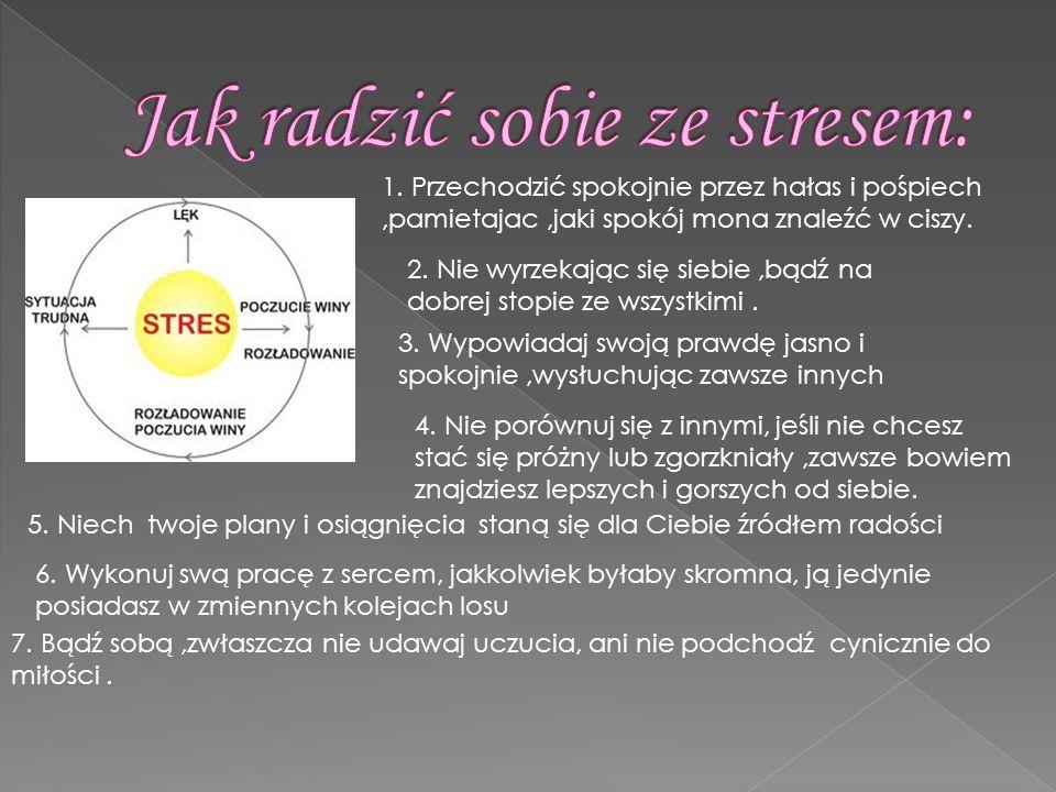 Jak radzić sobie ze stresem: