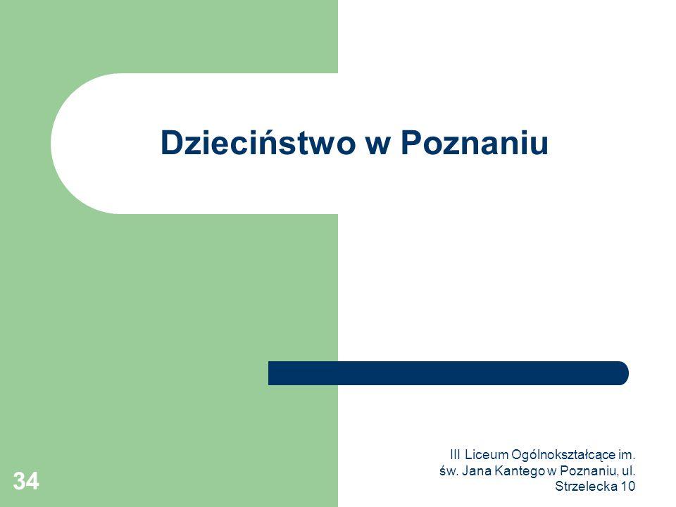 Dzieciństwo w Poznaniu
