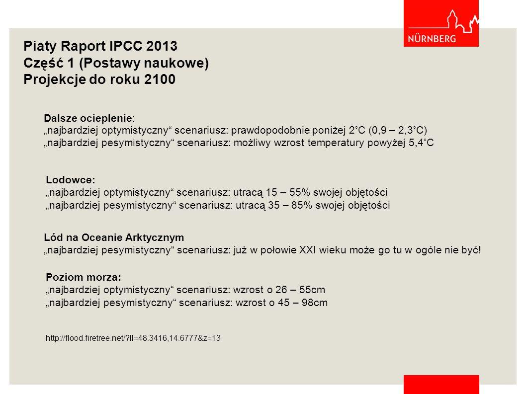 Część 1 (Postawy naukowe) Projekcje do roku 2100
