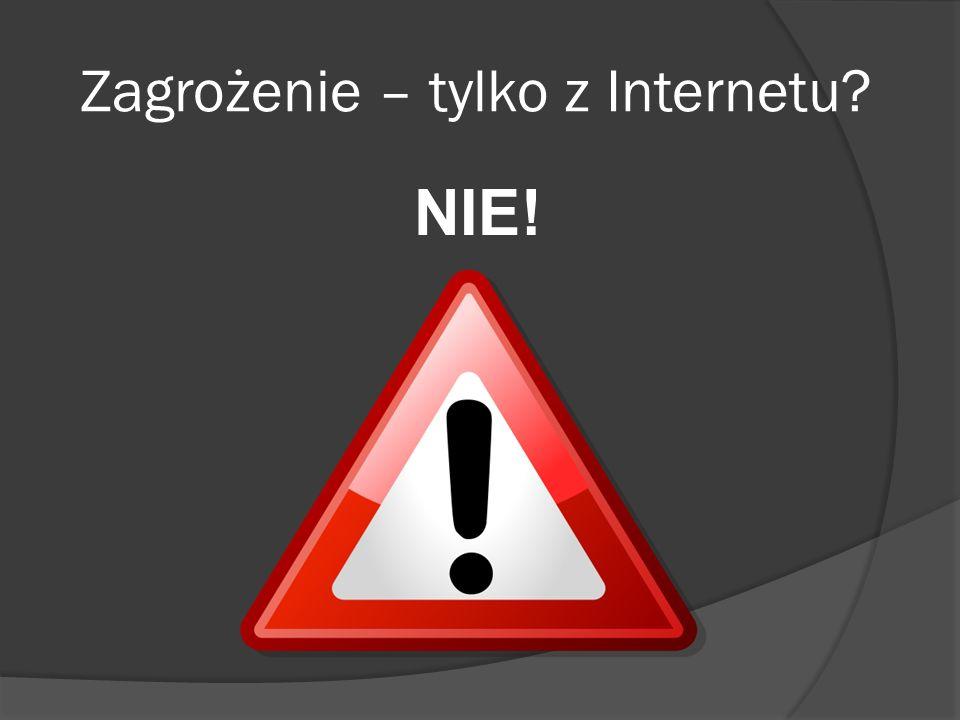 Zagrożenie – tylko z Internetu