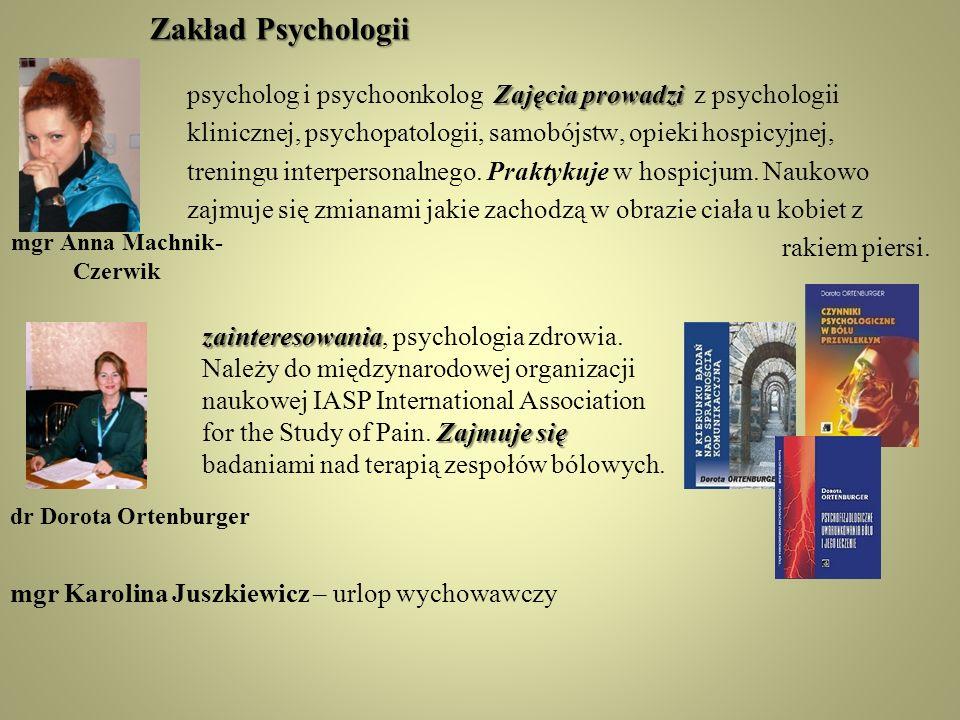 Zakład Psychologii
