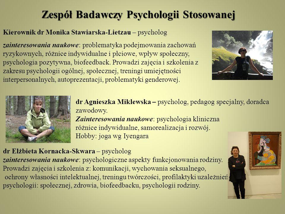 Zespół Badawczy Psychologii Stosowanej