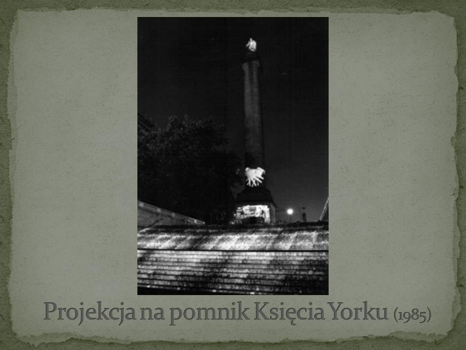 Projekcja na pomnik Księcia Yorku (1985)