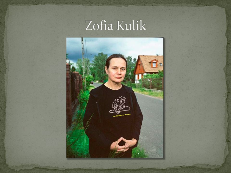Zofia Kulik