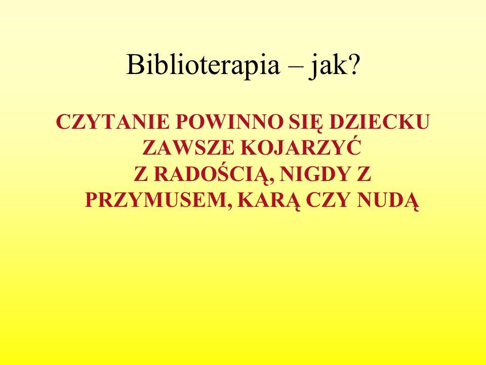 Biblioterapia – jak.